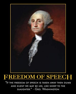 absolutely free speech