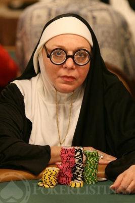 Gambling nun sentenced