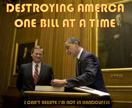 obama destroying america one bill at a time
