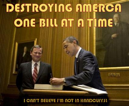obama destroying america