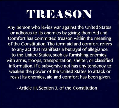 treason constitution 